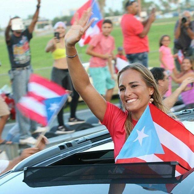 Wow!! That was quite a homecoming! Te amo Puerto Rico! Gracias por la…