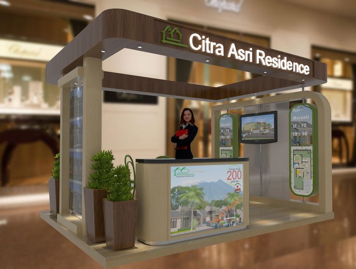 ARCHITECTURE-3D: DESAIN STAND PAMERAN PROPERTY