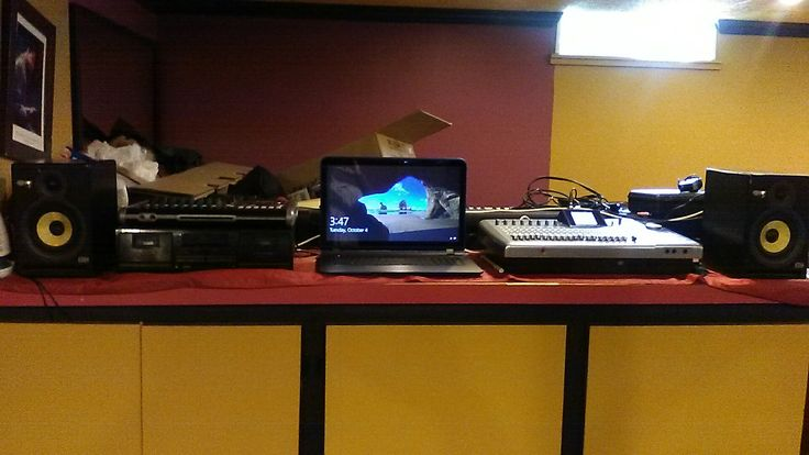 """17"""" HP 8GB 1TB Laptop latest edition to the Voice of Worship Studio"""