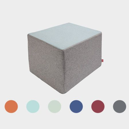 4folderPouf from PYTT Living can be used as a chair, table or mattress. Available in six different colors.