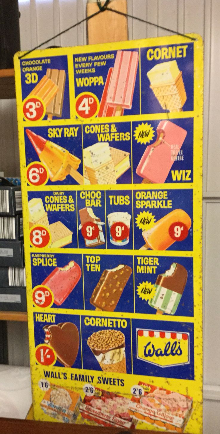 Walls Ice Cream 1960s Memories Of The Summer Holidays