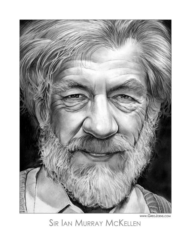 Ian mckellen by gregchapin on deviantart actor who portrayed gandalf in the lord of the