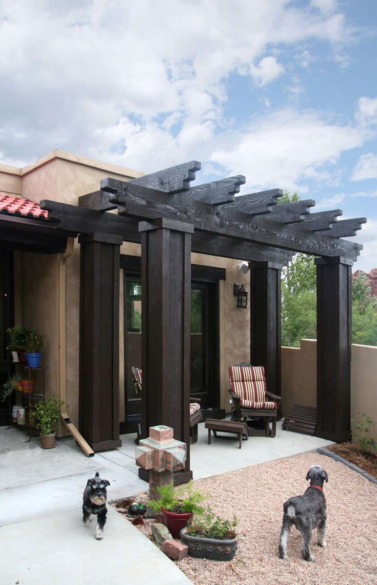 Entry Courtyard For A Santa Fe Style Home