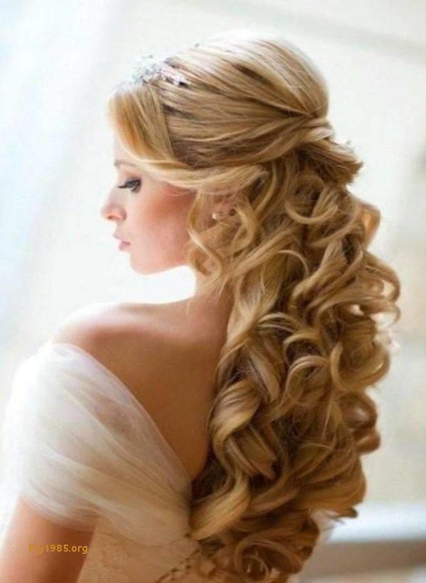 Brautfrisuren Lange Haare Halboffen Elegant Hochsteckfrisuren