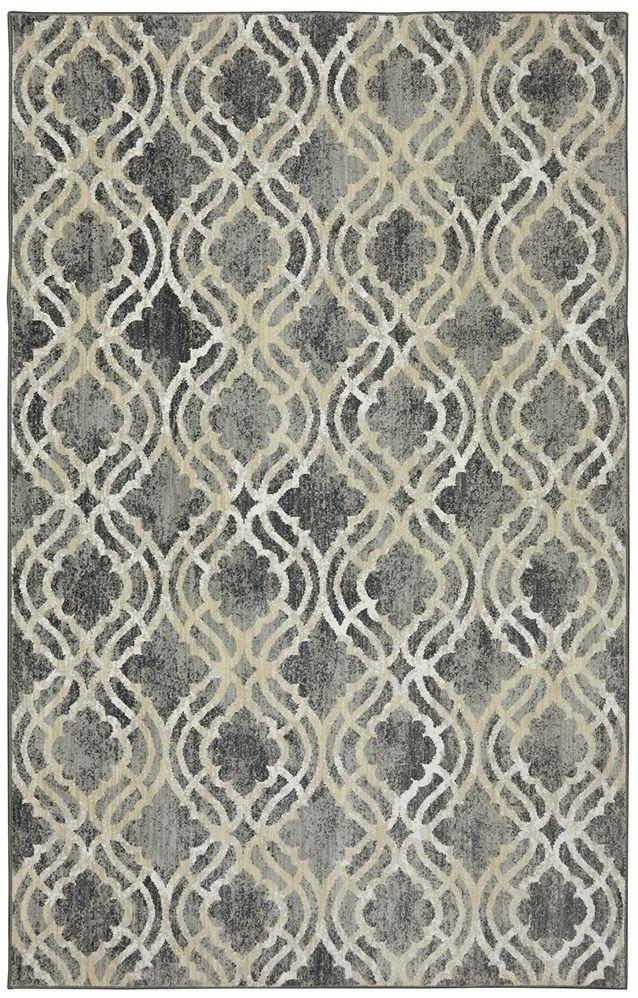 karastan karastan euphoria potterton ash grey area rug - Grey Area Rugs