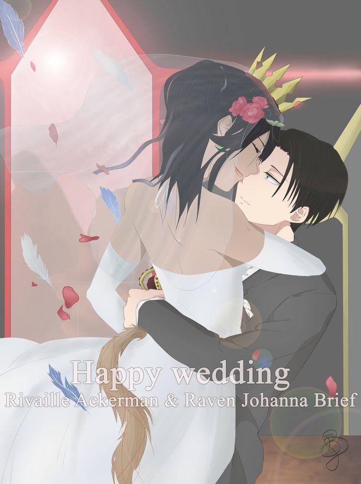 Happy Wedding ^.^ ~by BJ (Raven)