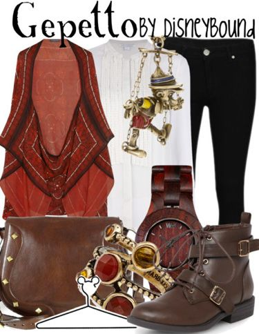 DisneyBound - Pinocchio - Gepetto Great Shirt
