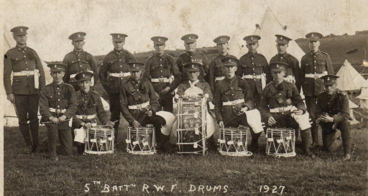 5 RWF Drums 1927