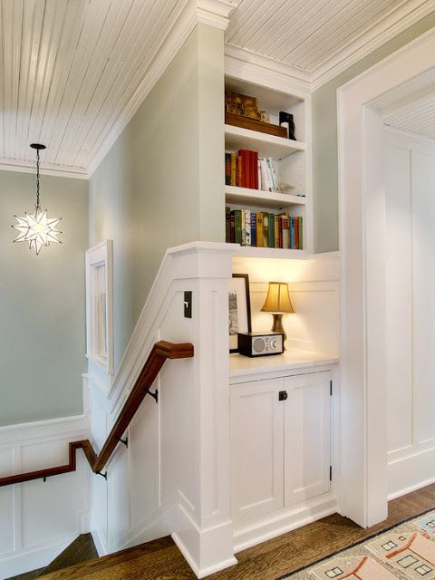 Upstairs Hallway Nook Country Decor
