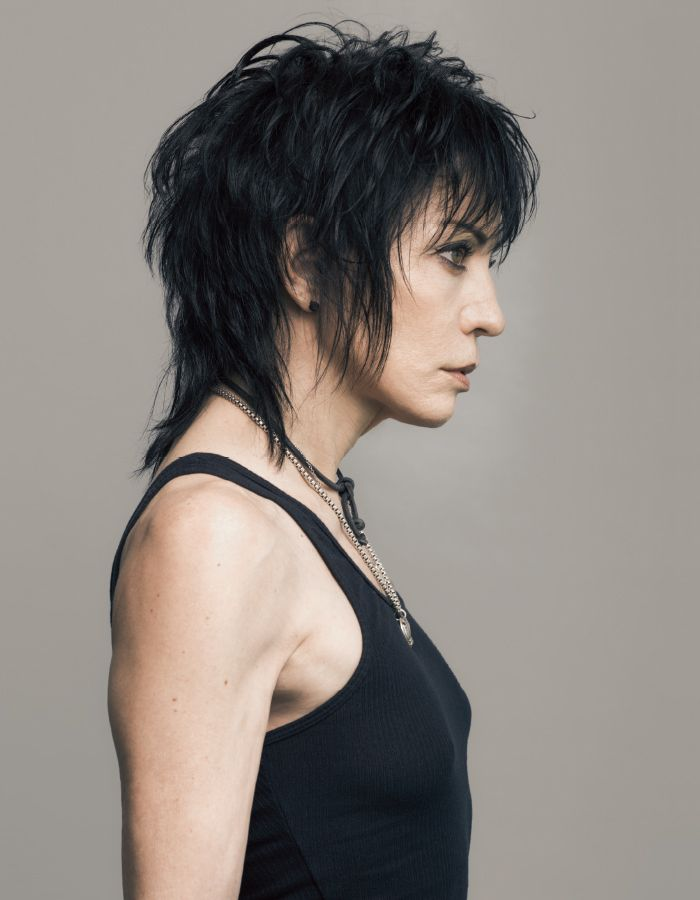 """Joan Jett for our """"Use Your Voice"""" story in our summer 2015 issue. Photograph by Rodolfo Martinez."""
