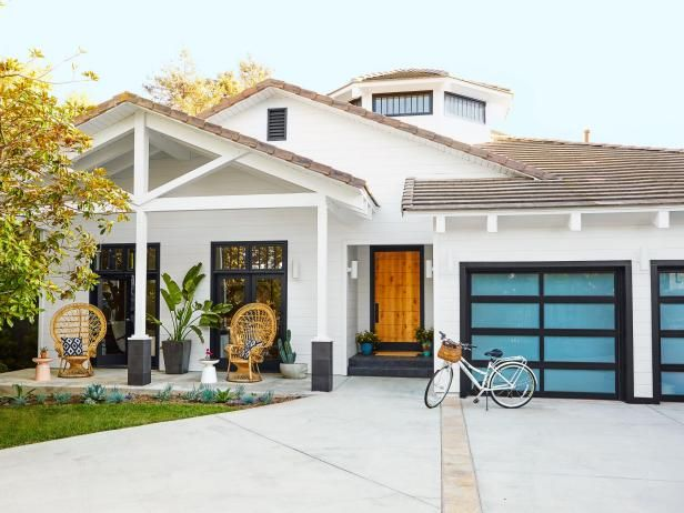 This Southern California home from HGTV Magazine has the sleek shade to thank for its signature style.