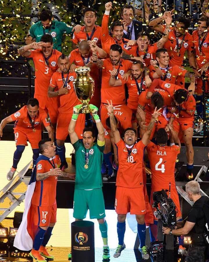 Chile Bicampeón Copa América Bicentenario 2016.
