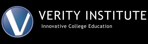 "exists to integrate God's truth (""verity"") into every area of life and learning. Established in 2001, Verity Institute was founded to disciple college students to be faithful followers of Jesus Christ as they pursue higher education. Verity helps students avoid the pitfalls of traditional college campuses such as non-Christian professors, secular humanism, and loose campus morals. In our innovative, 21-month program, Verity students complete a Bachelor of Arts or Science degree t"