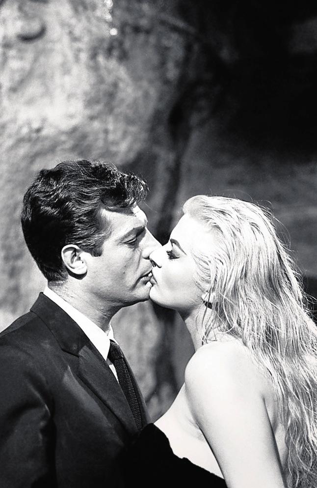 Marcello Mastroianni, Anita Ekberg - La Dolce Vita (Federico Fellini, 1960)
