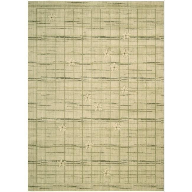 """Nourison Home Casual Woven Textures Beige Rug (1'9"""" x 2'9"""") (1), Size 1'9"""" x 2'9"""" (Wool, Abstract)"""