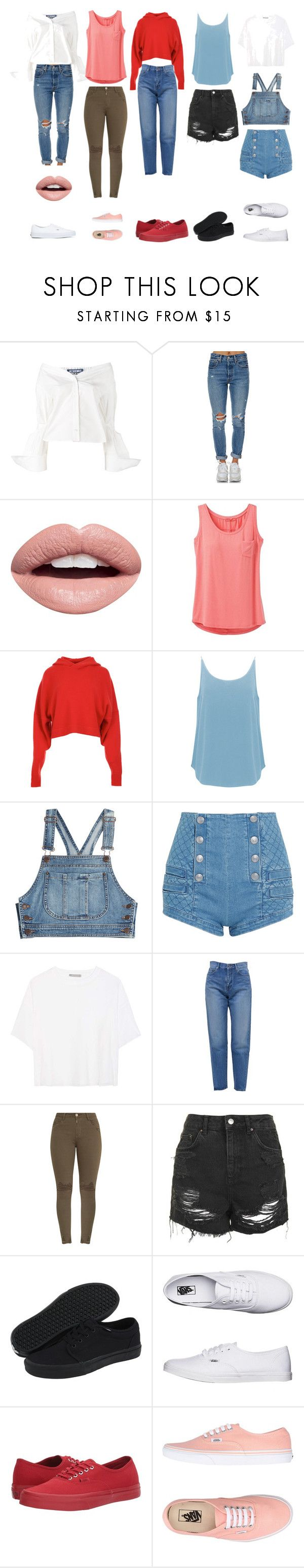 """""""Casual"""" by mc-crusher on Polyvore featuring Jacquemus, Levi's, Nevermind, prAna, TIBI, BA&SH, Moschino, Pierre Balmain, Vince and Yves Saint Laurent"""