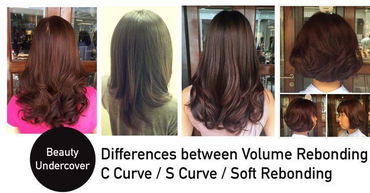 Differences Between Soft Rebonding Vs Volume Rebonding Vs Japanese Aqua Straight Japanese Hair Straightening Hair Volume Treatment Hair Images