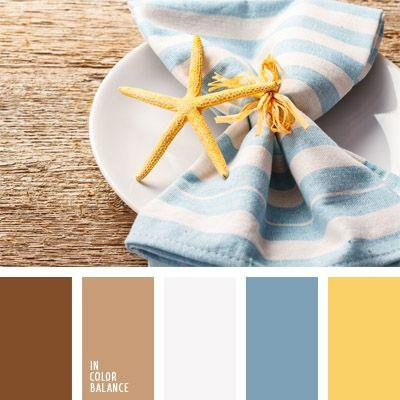 amarillo y celeste, colores para decorar una mesa, elección del color, gama de…