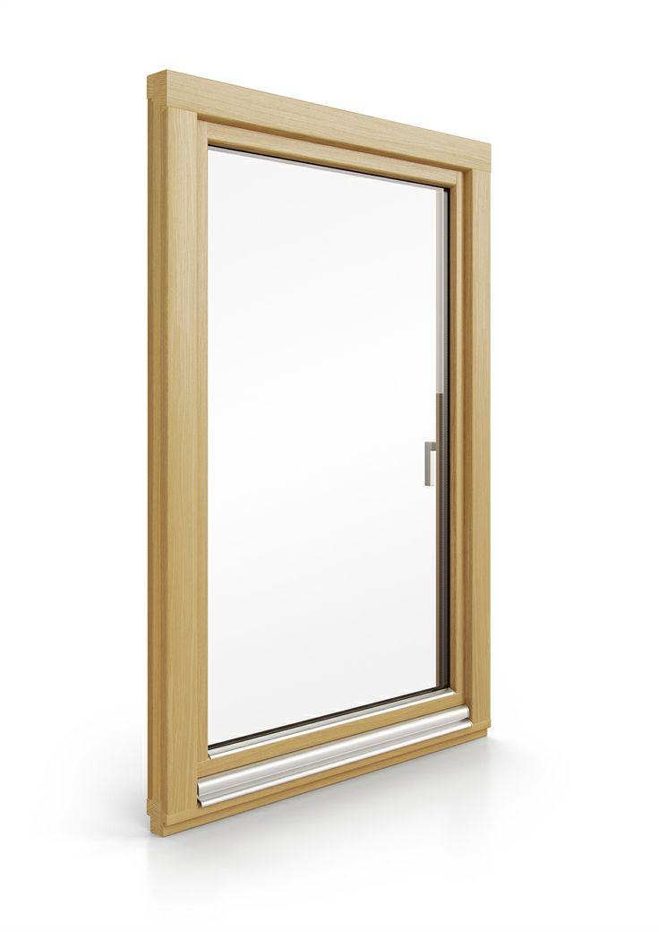dřevěné okno SOFTLINE | wood window SOFTLINE