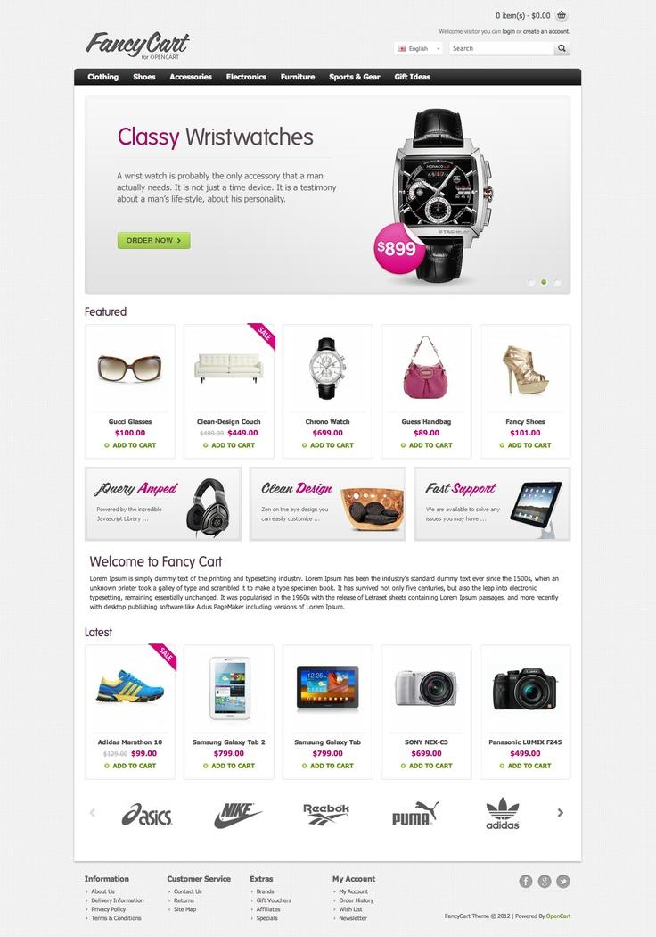 FancyCart Premium OpenCart Theme