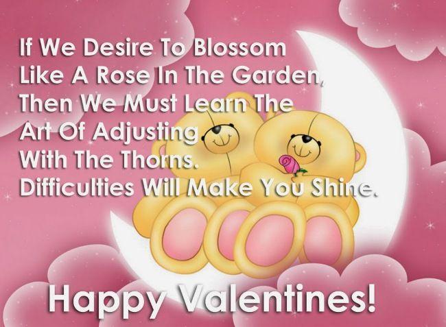 53 best Valentines Day Wishes images on Pinterest | Valentine day ...