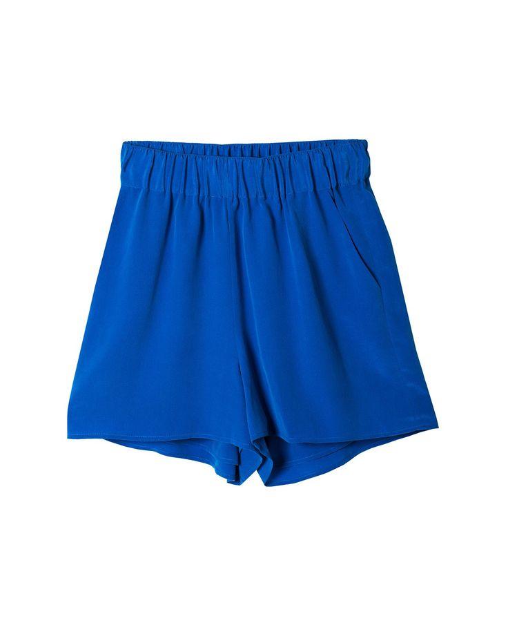 Silk Shorts - Shorts - Bottom - WOMEN - GRANA: Wardrobe essentials made from the world's best fabrics