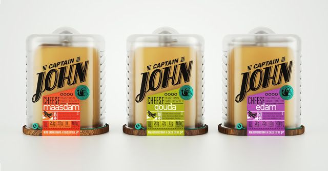 Captain John Cheese (Student Project) on Packaging of the World - Creative Package Design Gallery
