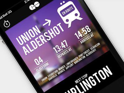 Transit App Concept