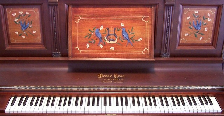 Katherine Russell - The Painted Piano Music Studio: Piano Panels, Painting Piano, Piano Music,  Upright Piano, Painted Pianos
