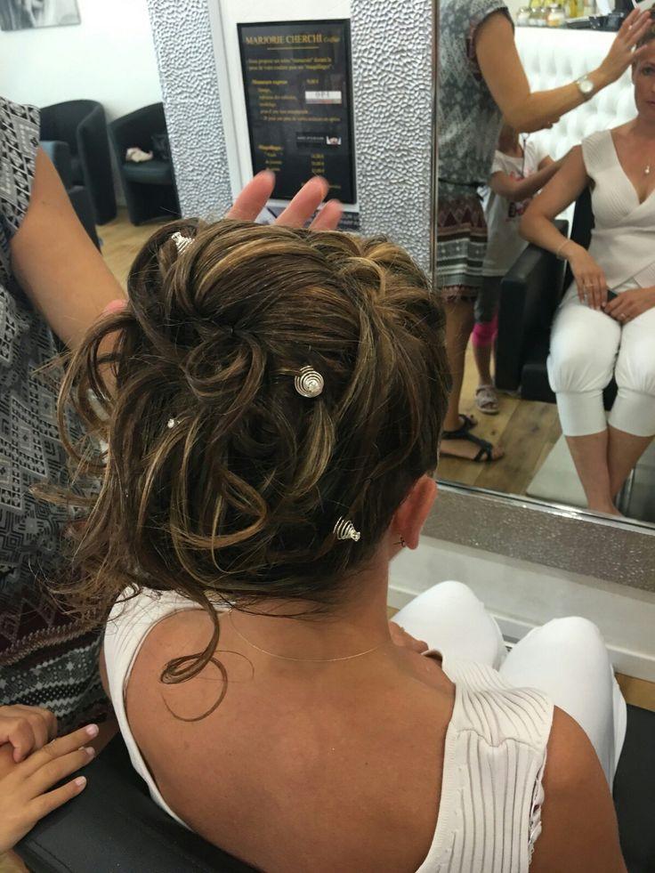 1000 chignon mari e pinterest gypsophile coiffure de mariage avec tresse et Chignon mariee bas
