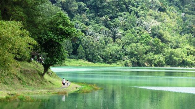 Linow Lake, Minahasa   Northern Celebes Province, Indonesia.