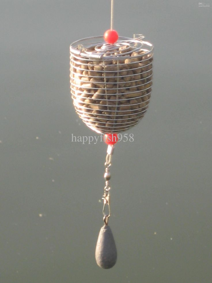 Carp Fishing Bait Cage Stainless Bait Cage Mix Online with $35.48 ...
