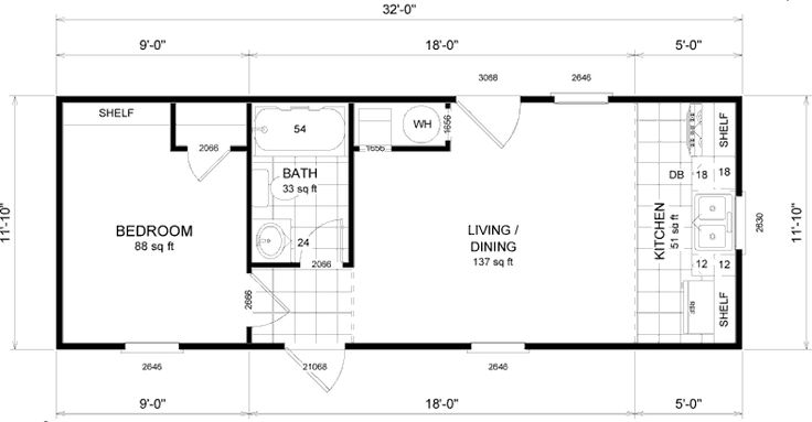 micro living floor plans homes - Google Search