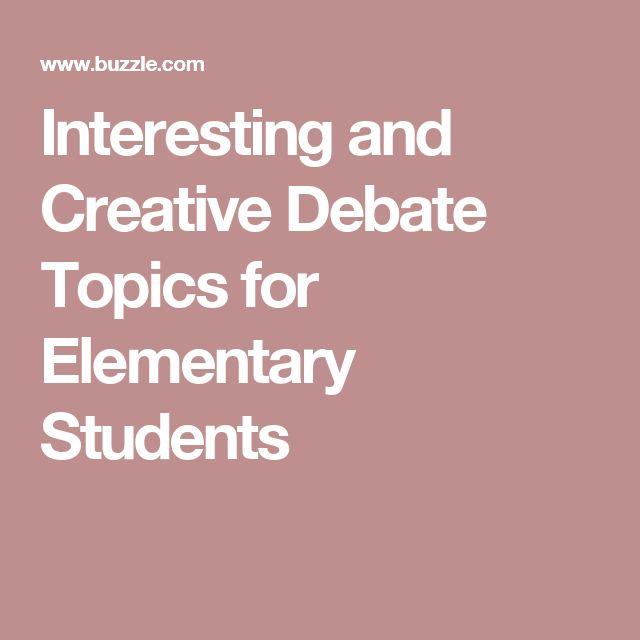 Debate central essay