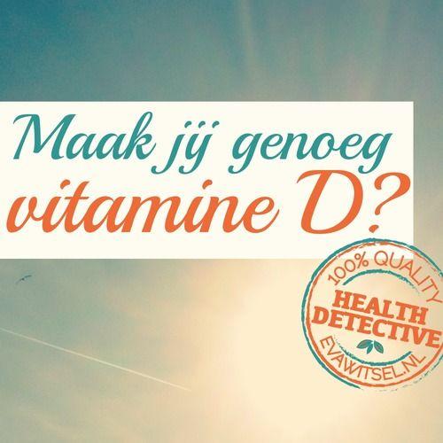 Hoe je met zonlicht je vitamine D kunt optimaliseren | www.evawitsel.nl