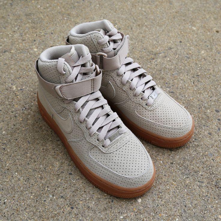Nike Air Force 1 High I Suede Beige