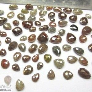 This is Lot of 10.00 ct Natural ICY loose Diamond Pear cut opaque clarity for all type of fine art deco jewelry at wholesale price.