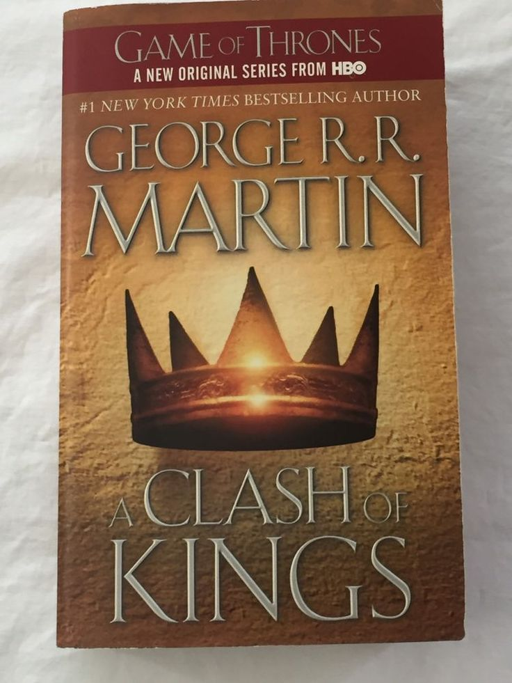 A Clash Of Kings Game of Thrones Book 2 Two George R R Martin Paperback