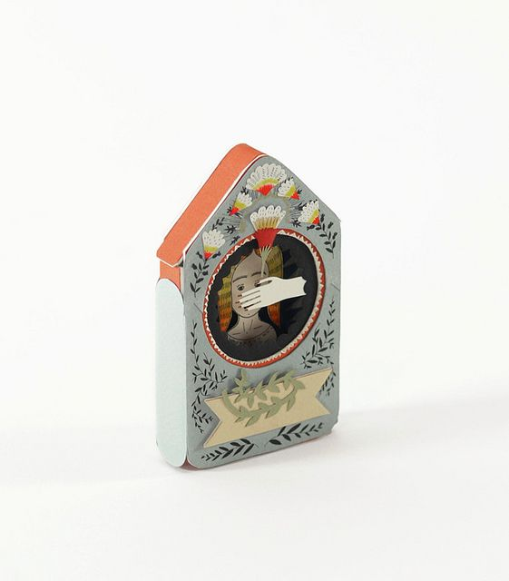 Visionary. New Miniature book by Elsita (Elsa Mora), via Flickr
