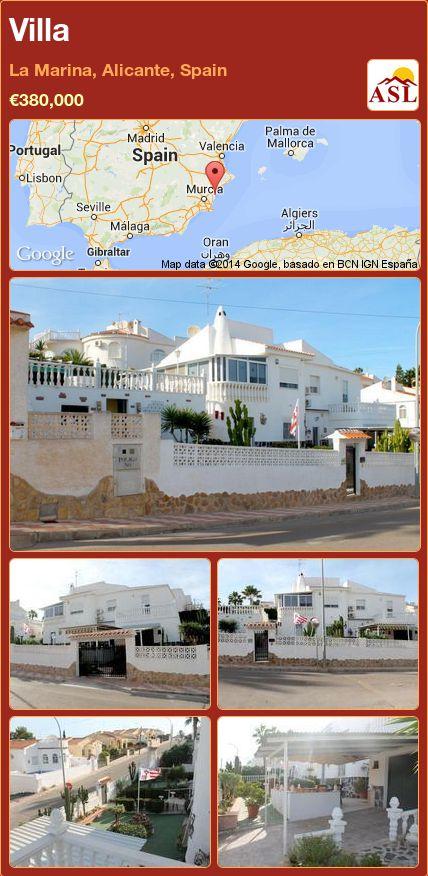 Villa in La Marina, Alicante, Spain ►€380,000 #PropertyForSaleInSpain
