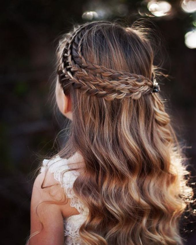 19 Brilliant Kids Hairstyle For Going School My Baby Doo Little Girl Hairstyles Curly Hair Styles Girls Hairstyles Easy