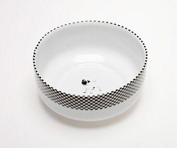 SINGLE SET - muesli bowl - Mopsdesign  Porcelain muesli bowl, element of SINGLE SET collection.