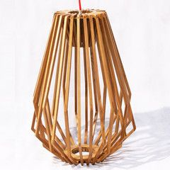 Geometric long light shade