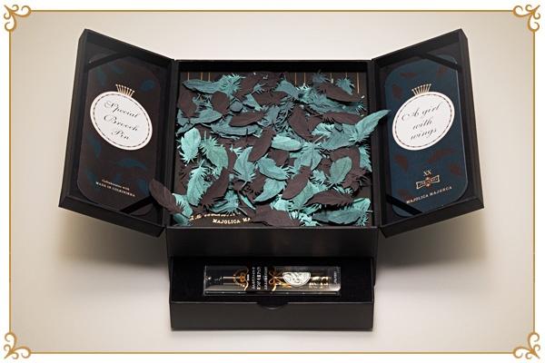"""классный набор. коробку можно использовать как подарочную MAJOLICA MAJORCA Press Kit 2008 Chapter20 """"A girl with wings"""" / マジョリカ マジョルカ プレスキット 2008 Chapter20 """"A girl with wings"""""""