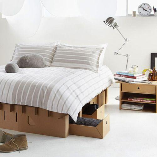 cartboard bedroom? (via Freshome)
