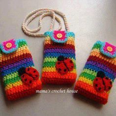 Phone case crochet