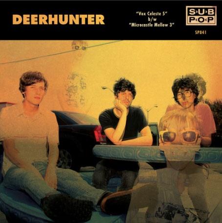"Deerhunter // Vox Celeste 5 7"" [Subpop Singles Club] (limited to 1500 copies)"