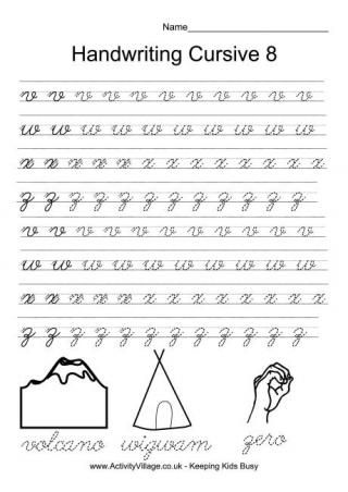 Best Handwriting Worksheets For Kids Images On