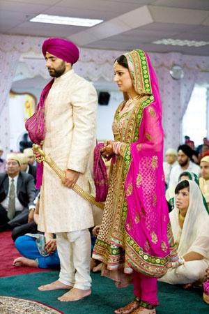 Dulhan Dulha Sikh Ceremony