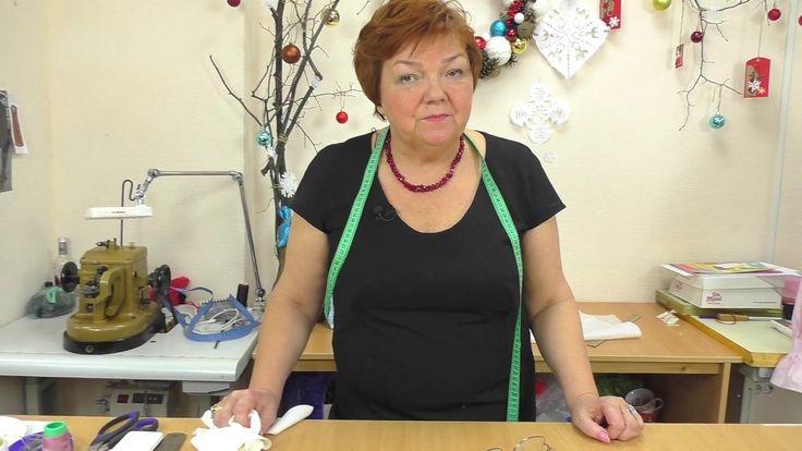 Раскрой блузки с рукавом реглан, защипами и необычной стойкой, часть3